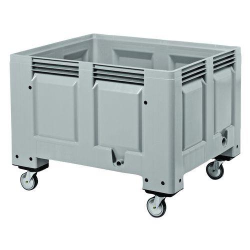 Paletový kontejner na kolečkách, 535 l