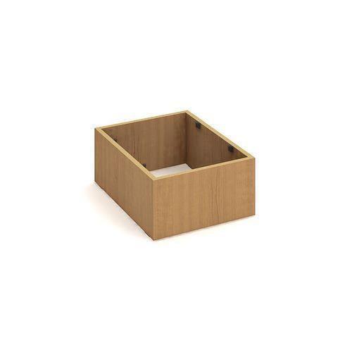 Sokl pod mobilní kontejnery, 20 x 39 x 52,5 cm, dezén buk