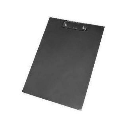 Psací podložka s klipem, A4, 12 ks, černá