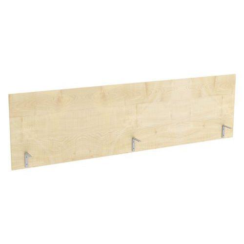 Stolový paraván Abonent, 180 x 51 cm, dezén javor