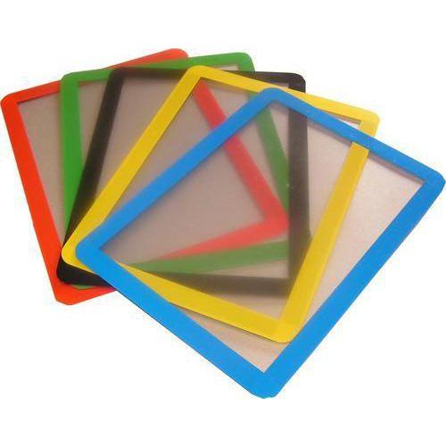 Informační kapsa Frames4Docs A4, magnetická, černá