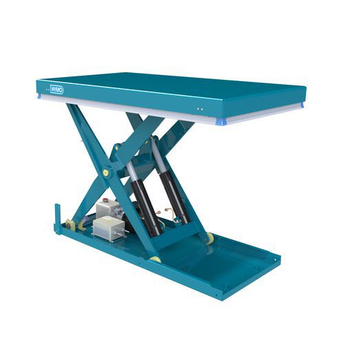 Hydraulický zvedací stůl, do 2 000 kg, deska 135 x 80 cm, 200 -