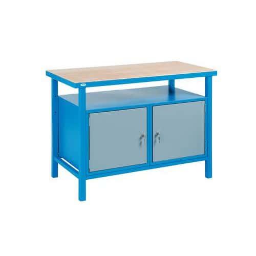 Svařovaný dílenský stůl Rivt, 85 x 120 x 60 cm - Prodloužená záruka na 10 let