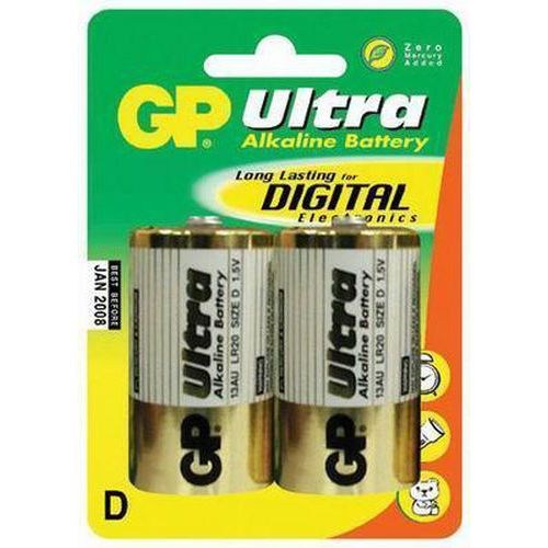 Baterie GP Ultra D 2ks