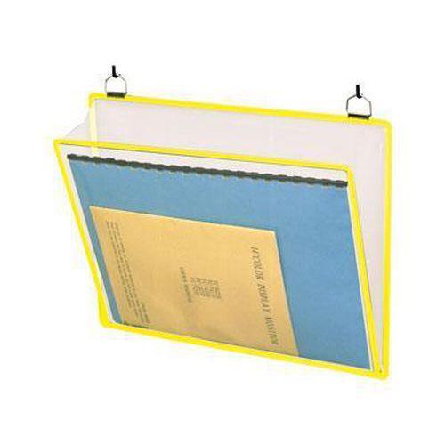 Informační rámečk Tarifold A4, se dvěma oky, žlutý