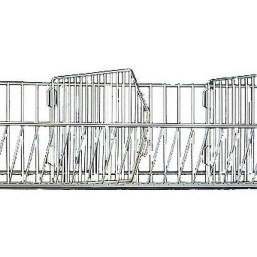 Dělicí příčka k drátěným košům, 50 x 24 cm