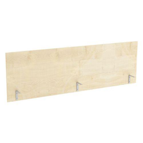 Stolový paraván Abonent, 160 x 51 cm, dezén javor