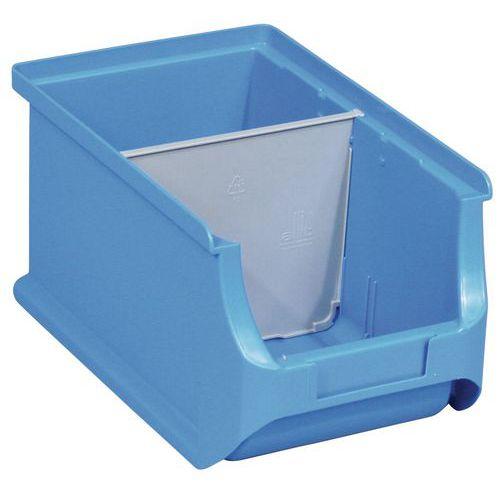 Dělicí přepážky příčné k boxům PP, 38 x 135 mm, 4 ks, Typ oddělo