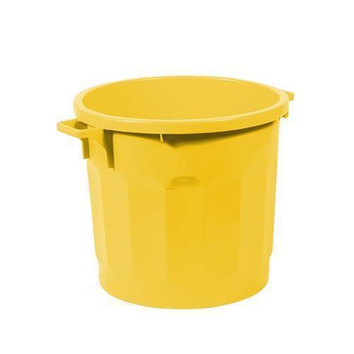 Plastový kontejner Bert, 75 l, žlutý