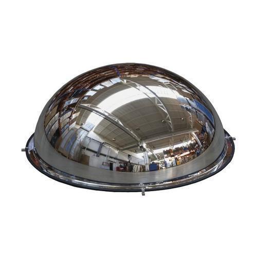 Průmyslové parabolické zrcadlo Manutan, polokoule, 800 mm - Prodloužená záruka na 10 let