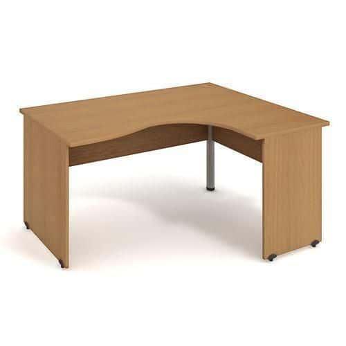 Rohový kancelářský stůl Gate, 160 x 120 x 75,5 cm, pravé provede