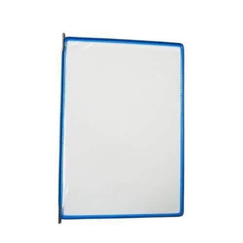Informační rámeček A4, modrý, balení 10 ks