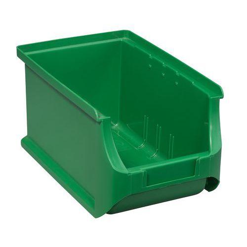 Plastový box PP 12,5 x 15 x 23,5 cm, zelený