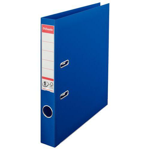 Pákový pořadač Esselte Lux, 20 ks, šířka 50 mm, modrý