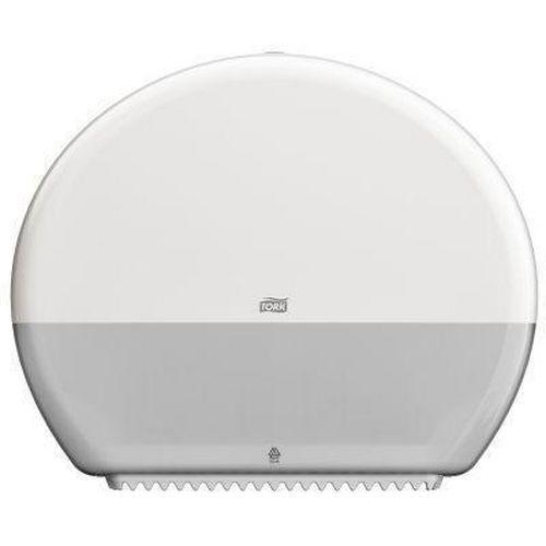 Zásobník na toaletní papír v rolích Tork T-Box, bílý