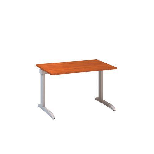 Kancelářský stůl Alfa 300, 120 x 80 x 74,2 cm, rovné provedení, dezén třešeň