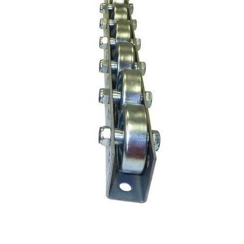 Univerzální kladičková lišta, ocel, šířka 41 mm, rozteč 125 mm,