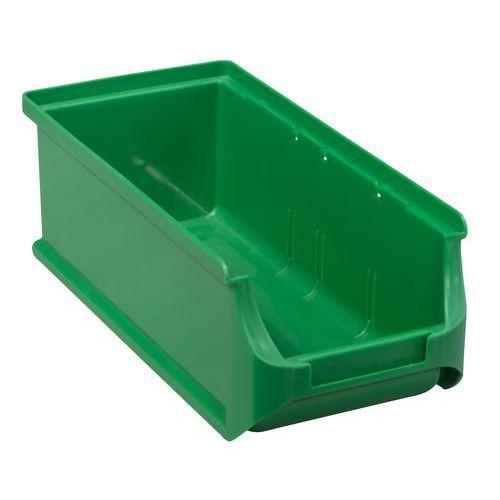 Plastový box PP 7,5 x 10,2 x 21,5 cm, zelený