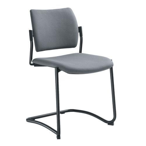 Konferenční židle Dream L s područkami, šedá