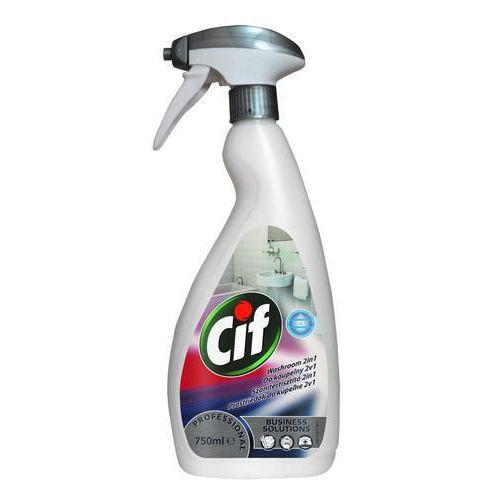 Cif Professional 2v1 na koupelny, 750 ml, 6 ks