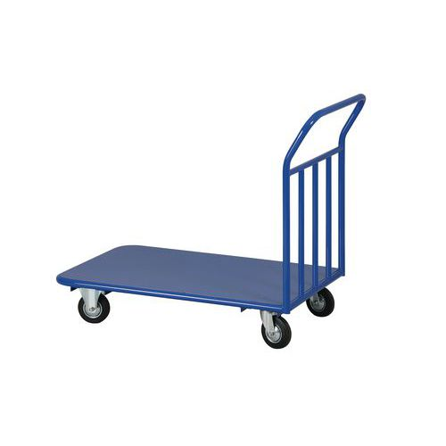 Plošinový vozík s vyztuženým madlem, do 400 kg