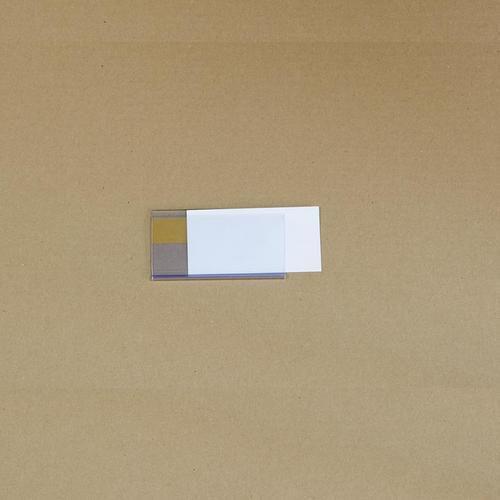 Manutan držák etiket na regály, samolepicí, 54 x 100 mm
