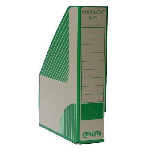 Archivační box Coruna, 25 ks, zelený