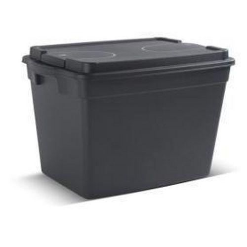 Plastový odolný úložný box s víkem, 60 l