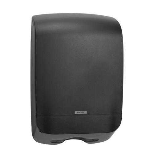Zásobník na skládané papírové ručníky Katrin Inclusive Medium, černý