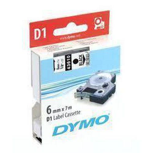 DYMO páska D1 (6mm x 7m) černá na bílé S0720780