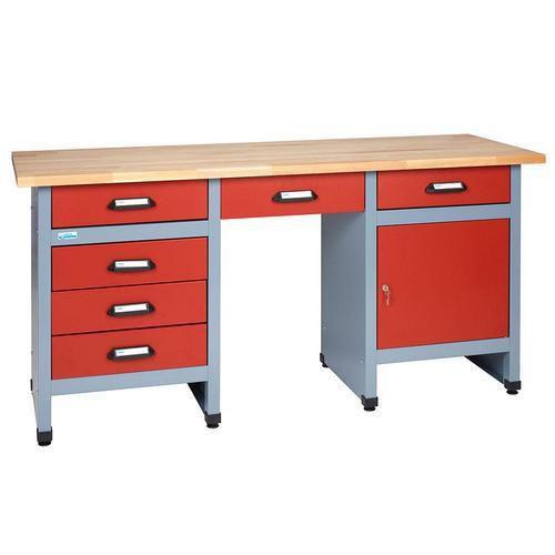 Dílenský stůl Monti, 84 x 170 x 60 cm - Prodloužená záruka na 10 let