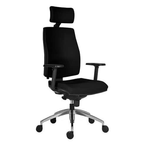Kancelářská židle Armin, černá