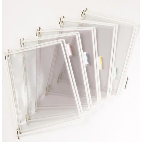 Informační rámečky Tarifold A4, 10 ks, bílé
