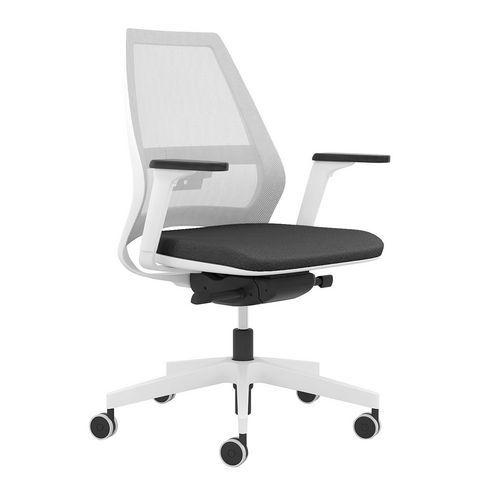 Kancelářská židle Infinity Net White, černá