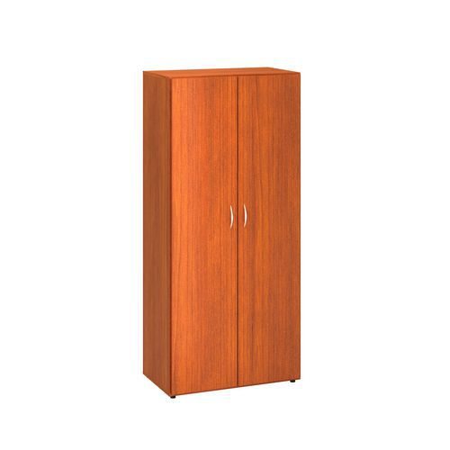 Vysoká šatní skříň Alfa 500, 178 x 80 x 47 cm, dezén třešeň