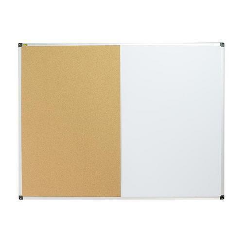 Korková a magnetická tabule Bi-Office, 90 x 120 cm