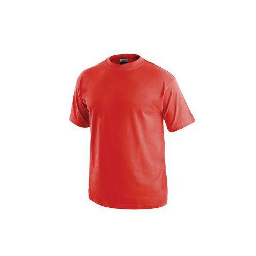 Pánské tričko s krátkým rukávem CXS, červené, vel. L