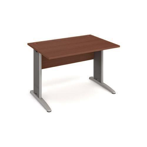 Kancelářský stůl Cross, 120 x 80 x 75,5 cm, rovné provedení, dez