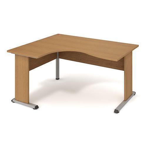 Rohový kancelářský stůl Proxy, 160 x 120 x 75,5 cm, levé provede
