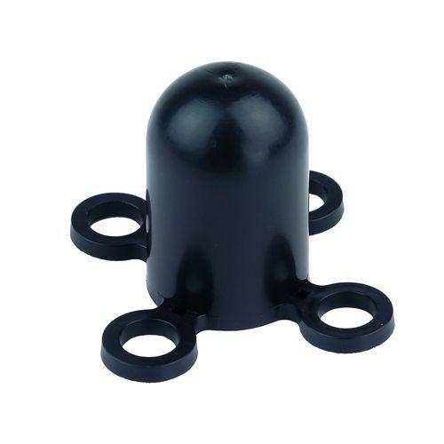 Klobouček na zahrazovací sloupek, černý