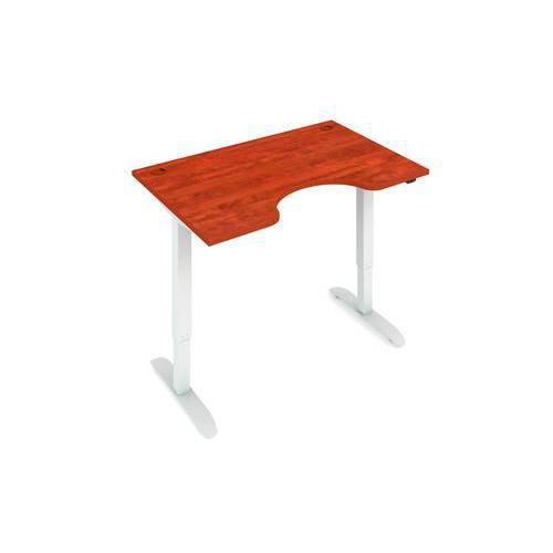Ergo výškově nastavitelný kancelářský stůl MOTION ERGO, 120 x 90 cm, buk/šedý - Prodloužená záruka na 10 let