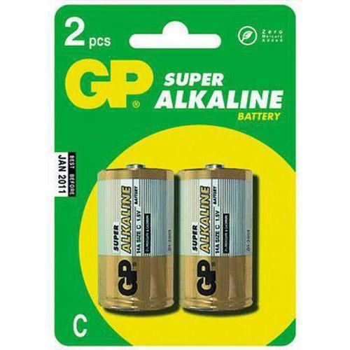 GP Alkalické baterie LR14, 2 ks
