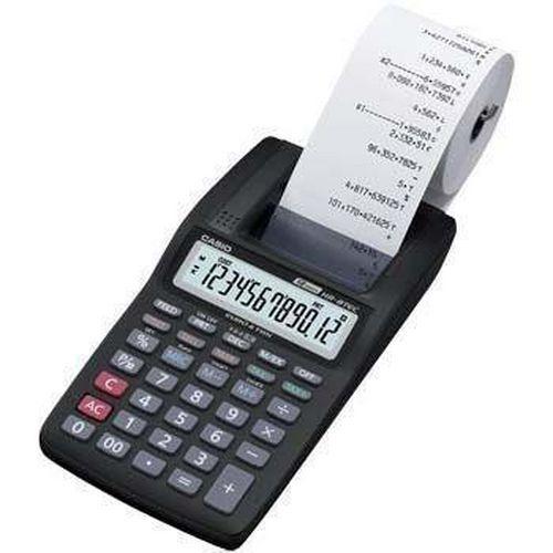 Stolní kalkulačka Casio HR-8TEC s tiskem, černá
