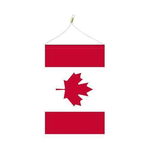 Malá státní vlajka, s očkem pro zavěšení, 16 x 11 cm, Kanada