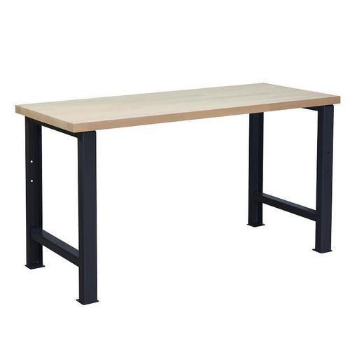 Dílenský stůl Weld, 84 x 150 x 68,5 cm, antracit