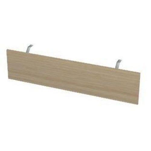Dřevěná krycí deska ke kancelářskému stolu Gemi 160, délka 133,8