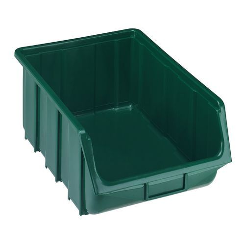 Plastový box Ecobox 18,7 x 33,3 x 50,5 cm, zelený