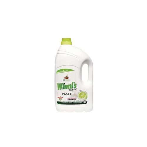 Ekologický prostředek na mytí nádobí Winnis Piatti, 5 l, 4 ks