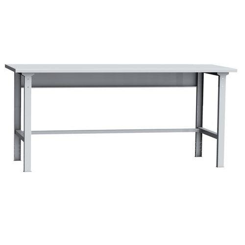 Montážní dílenský stůl, 87,5-115,5 x 200 x 75 cm - Prodloužená záruka na 10 let
