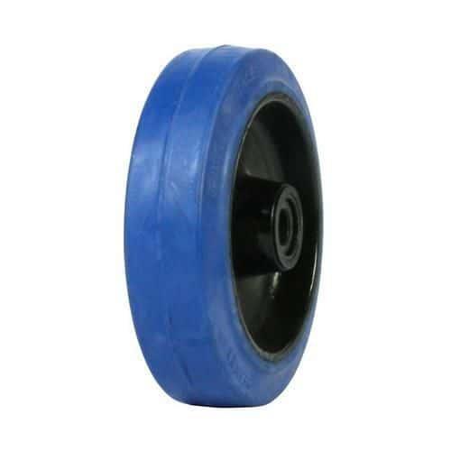 Gumové pojezdové kolo, průměr 125 mm, kluzné ložisko